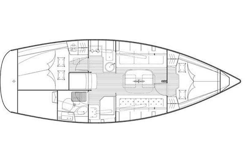 zeiljacht huren bavaria 31 cruiser  2cab  r u00fcgen    lauterbach