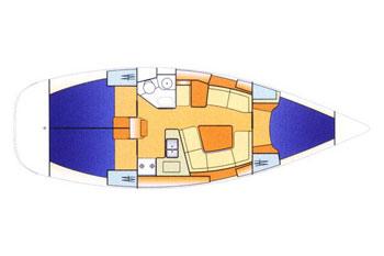 Sun Odyssey 37 (3Cab)